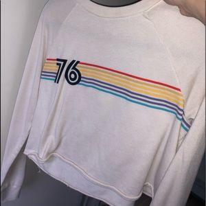 Long sleeve designed sweater